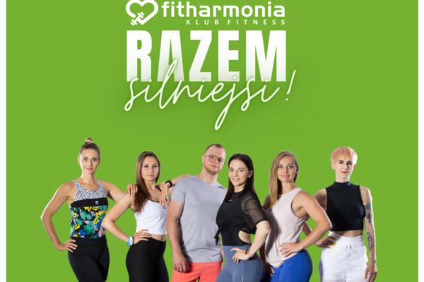 fitharmonia fitness razem silniejsi zakaz